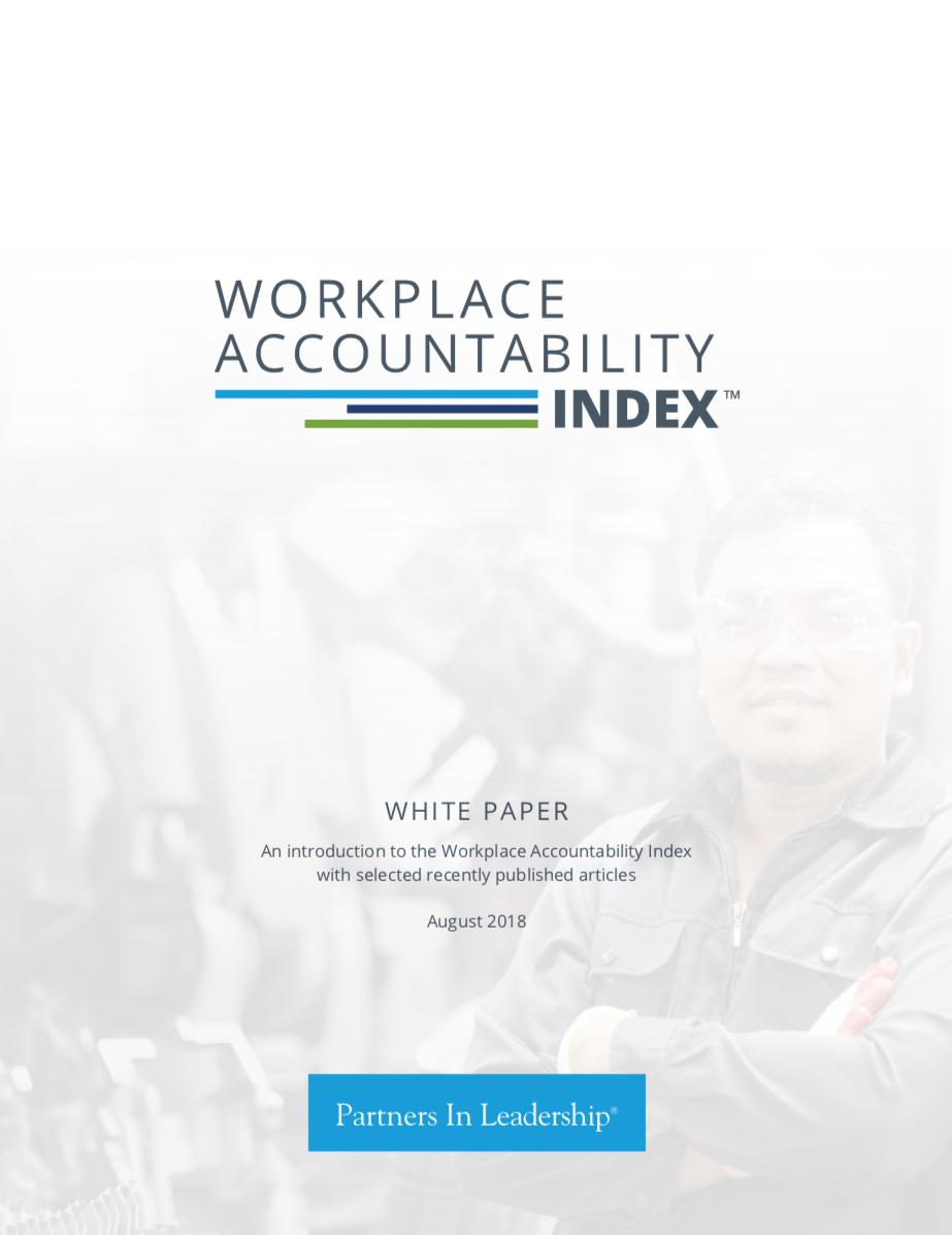 Workplace Accountability Index